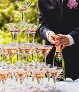 Alkohols un dzērieni kāzām