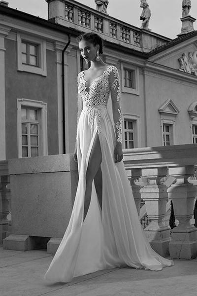 Сексуальные свадебные платья –  Откровенные разрезы