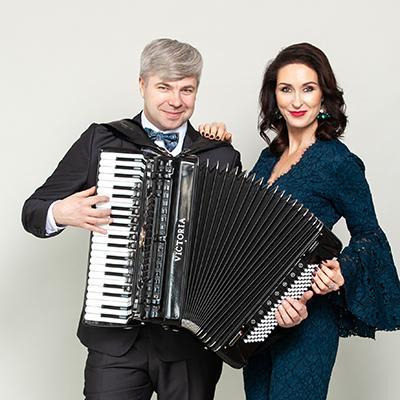Ineta Rudzīte un Kaspars Gulbis